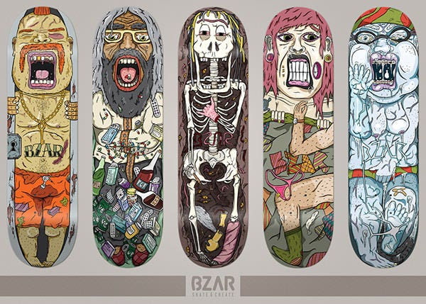 trapped skateboard series