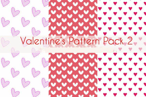 valentine s day pattern pack1