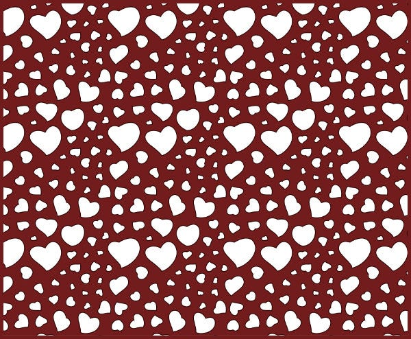 valentines day background seamless pattern