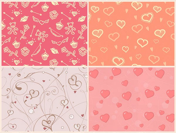 valentines day patterns