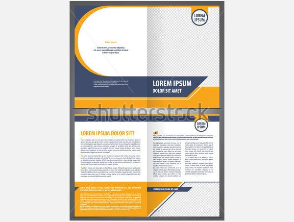Free bi fold brochure template word the best free for Free bi fold brochure template word
