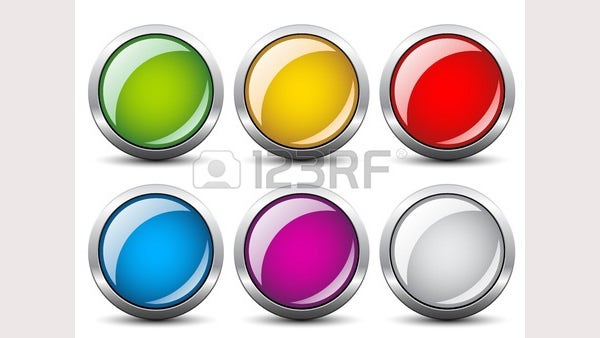 vector glossy buttons1