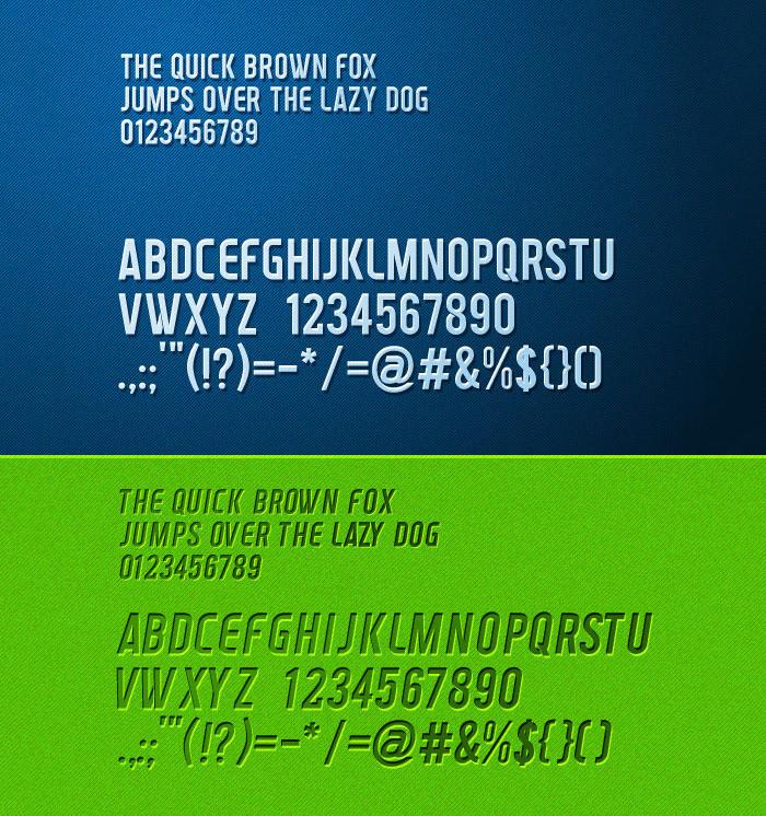 venderburg truetype font1