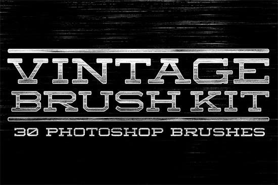 vintage brush kit
