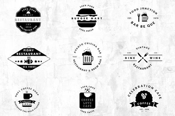 100 Awesome Hotel And Restaurant Logos Free Amp Premium