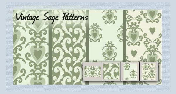 vintage sage patterns1
