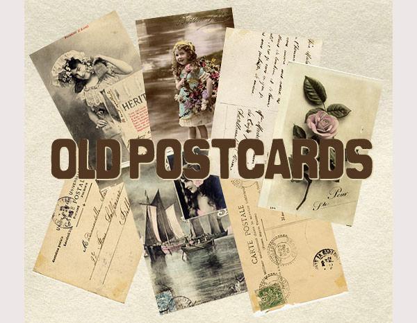vintage postcard se