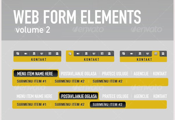 Web Form Elements Vol2