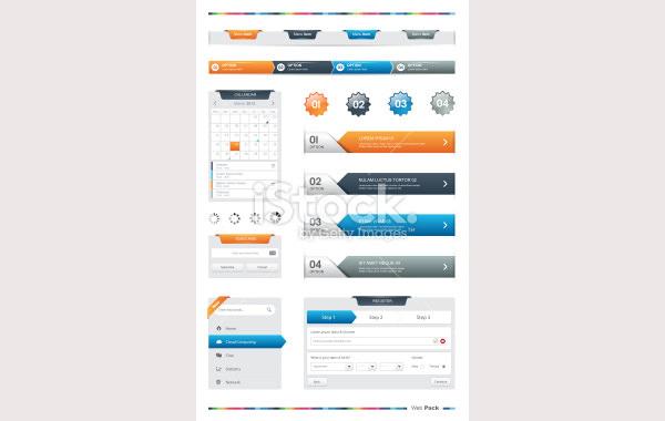 web pack illustration