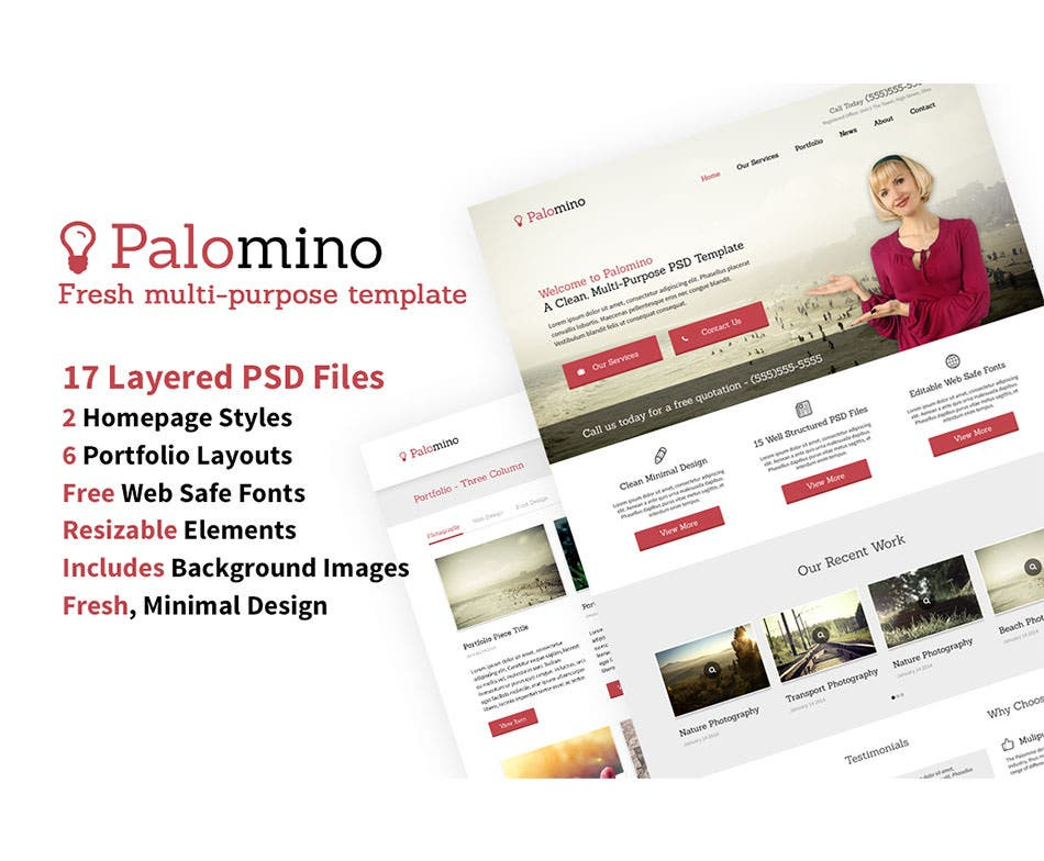 website template 17 psds