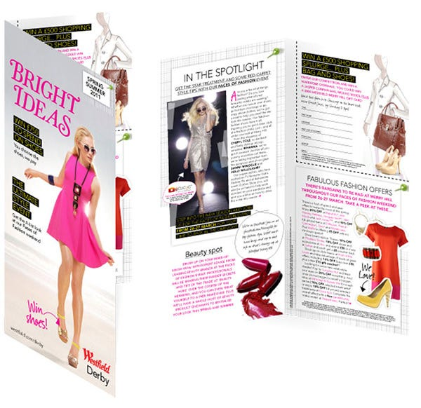 westfield fashion brochure