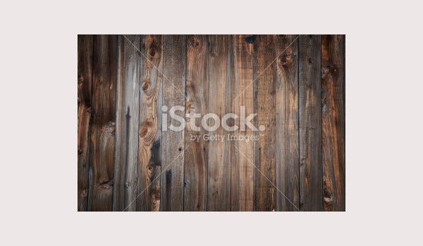 Wood planks frame