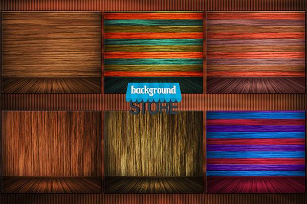 wooden interior background1