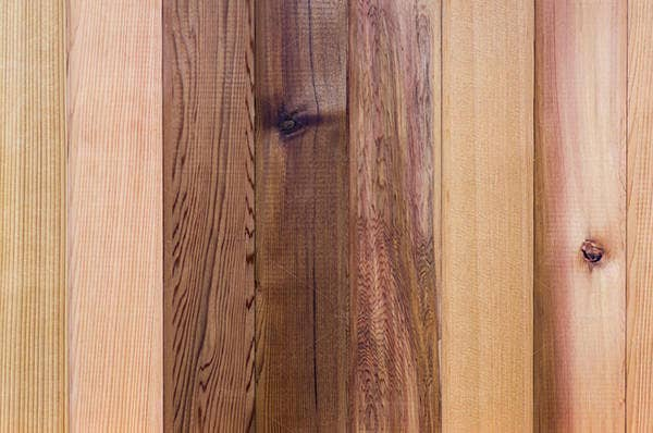 Wooden Siding Panel Background