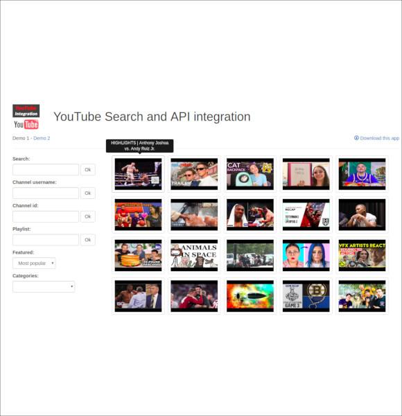youtube-api-ultimate-integration