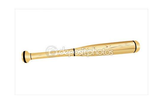 baseball bat vector 121