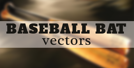 baseball bat vectors03