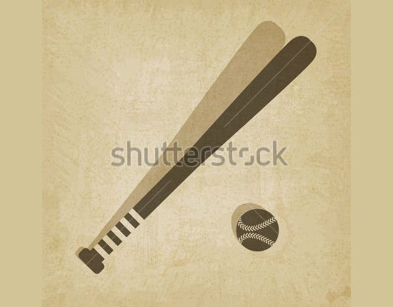 baseball vector 2