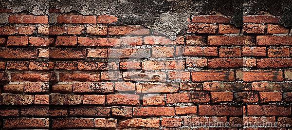 brick wall texture old