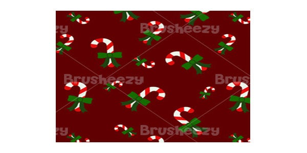 candy cane gingerbread photoshop pattern pack