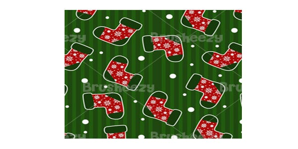 candy cane gingerbread photoshop pattern3