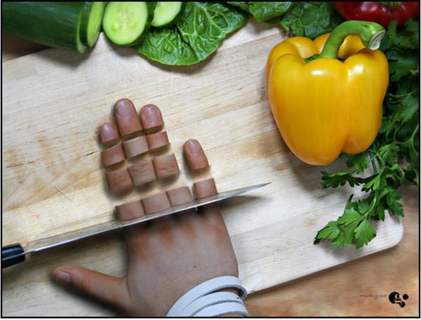 cooking photo manipulation