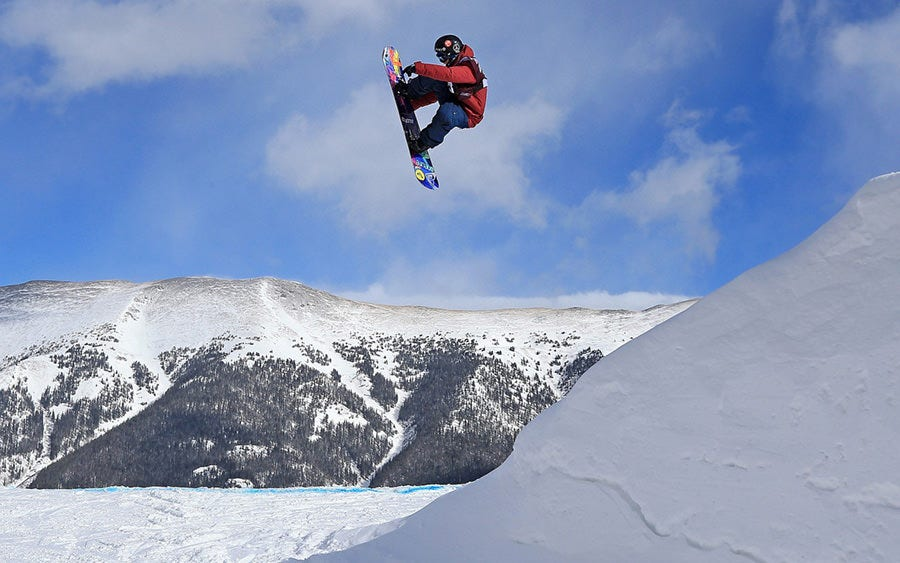 cool snowboarding jump copy
