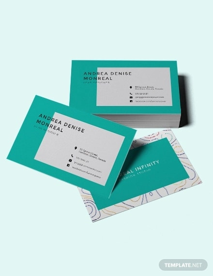 creative business card for fashion designer3