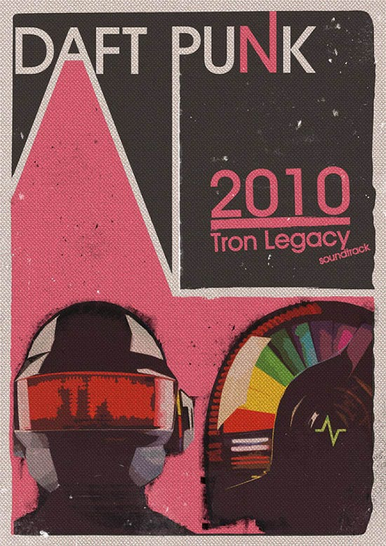 25 best daft punk posters collection for download free