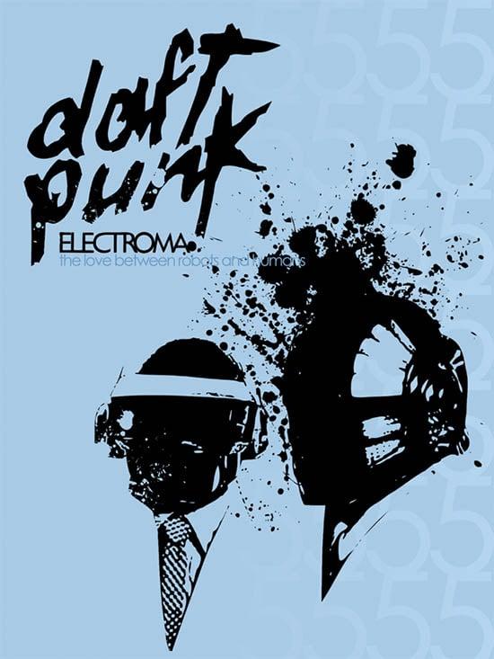 daft punk poster 8