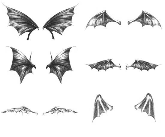 dark wings brushes 2