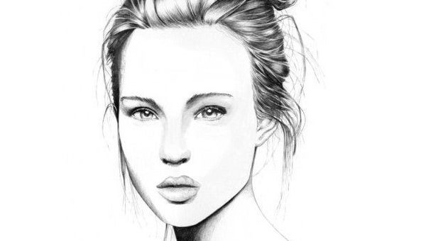 Beautiful pencile sketch