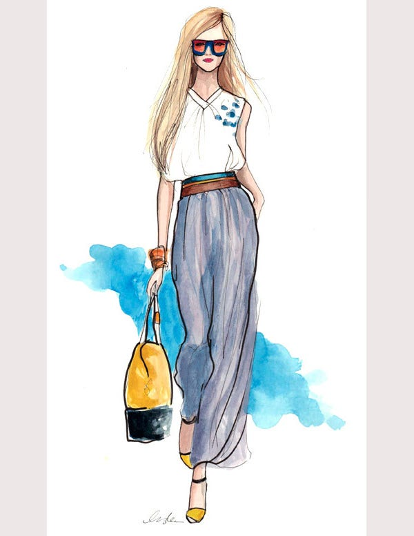 fendi designer sketches