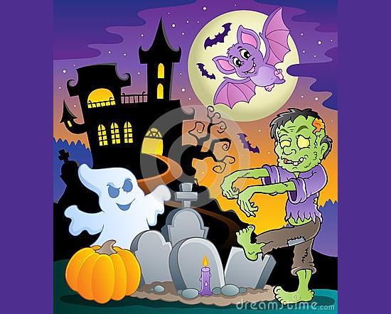 halloween zombie 2