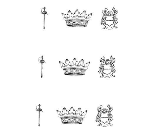 hand drawn heraldic series