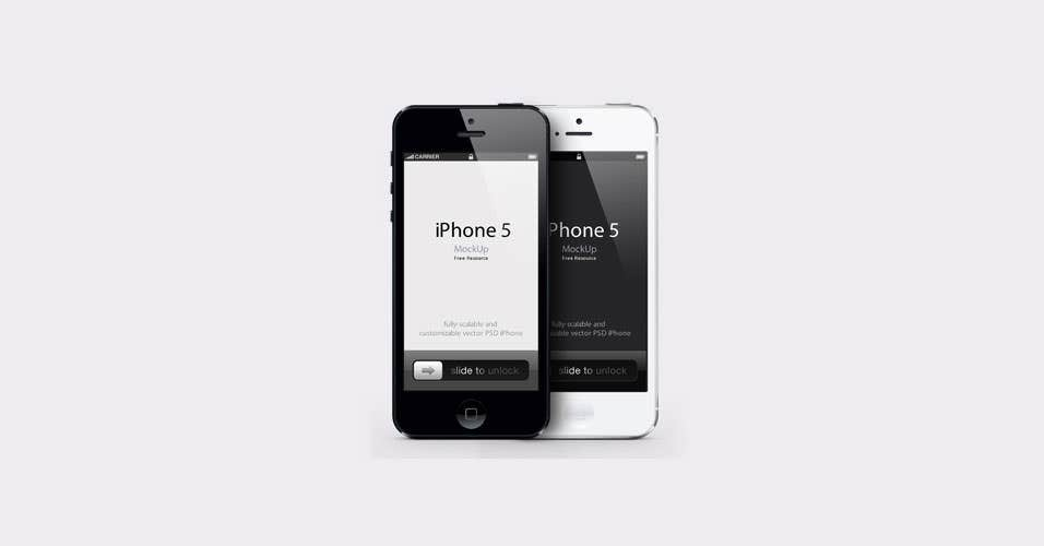 iPhone-5-Free-PSD