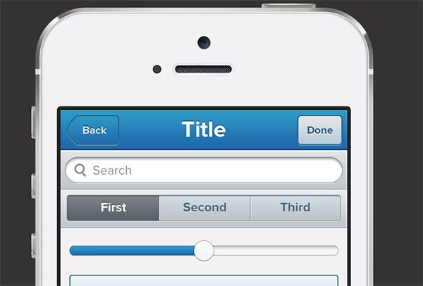 iphone app ui kit