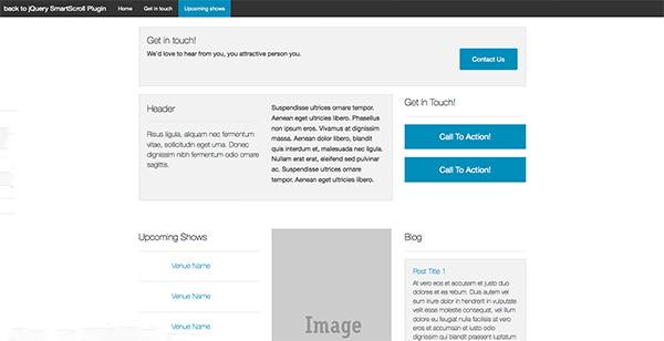 jquery smartscroll plugin1