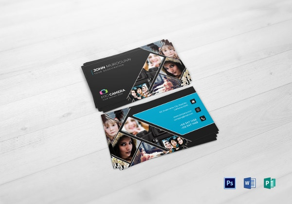 52 photography business cards free download free premium templates modern photography business card template flashek Images