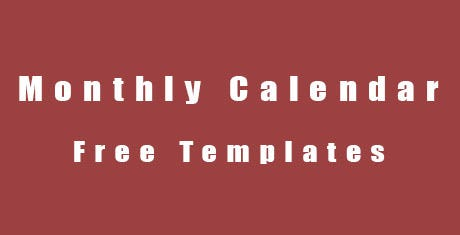 monthlycalendartemplates