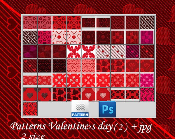 patterns valentine 2