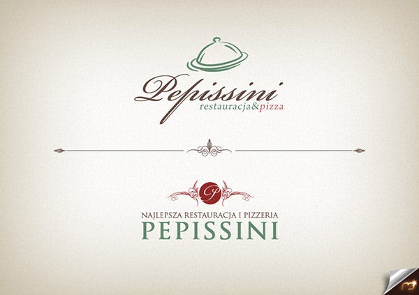 pepissini pizza logo