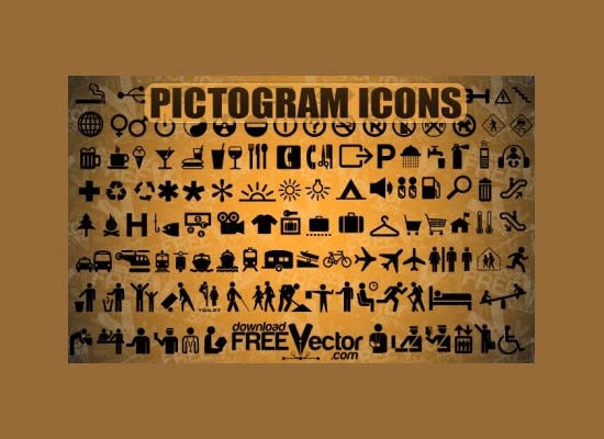pictogram icons