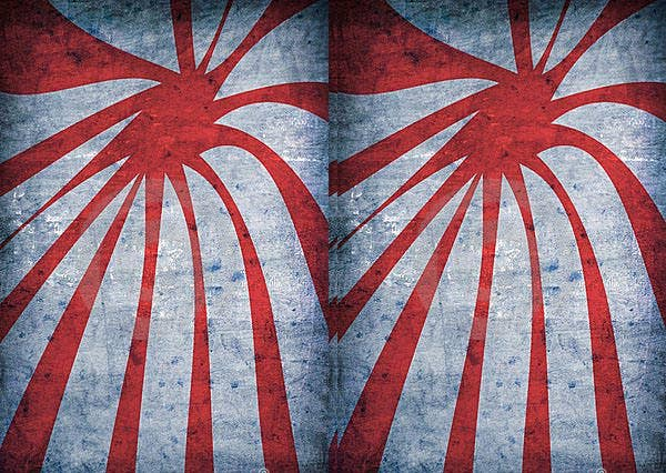 red vintage grunge background