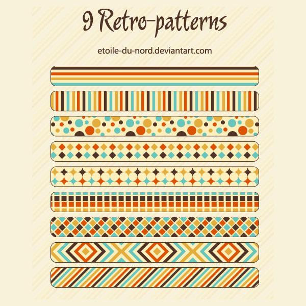55 vintage photoshop patterns free pattern download free