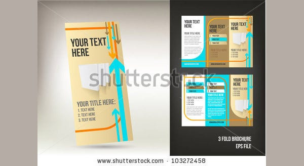 free 3 fold brochure template - 35 best retro brochure templates download free premium