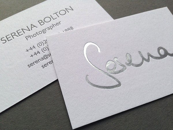 Affordable Letterpress Business Card  Free  Premium Templates