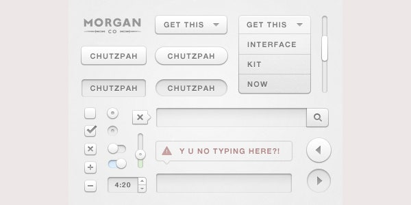 Chutzpah UI Design Kit