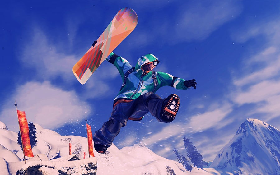 ssx snowboarding wallpaper for 1920x1200 widescreen 600 11 copy