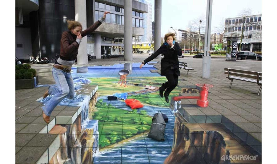 street painting 3d